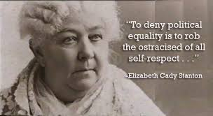 Elizabeth Cady Stanton Quotes Custom Know Woman Talent Elizabeth Cady Stanton Woman Talent