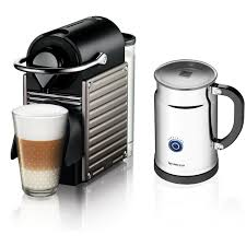 Nespresso Frother Nespresso Pixie Espresso Maker With Aeroccino Plus Milk Frother