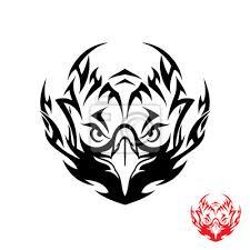 Fototapeta Tribal Tetování Orel