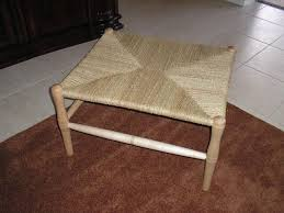 Handmade Maple Bench With Woven Seagrass Seat by The Wooden Quill