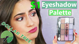 eye makeup for one dollar makeup tutorial and review