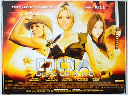 DOA - Dead Or Alive - Original Movie Poster