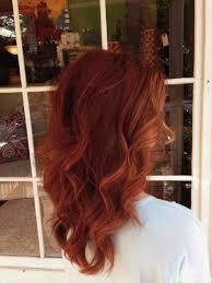 Dark Copper Hair Color Chart Copper Red Hair Red Hair
