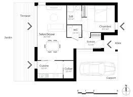 Plan De Cuisine 3d One Level Open Concept House Plans Plan Cuisine