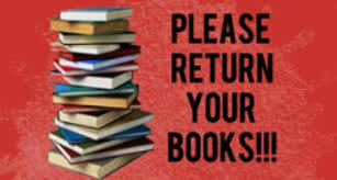 Image result for return your books