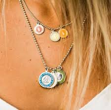 st christopher necklace small heart