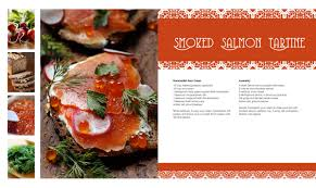 Recipe Page Layout Publishing
