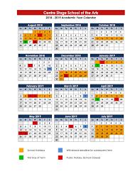 Term Dates - Centre Stage