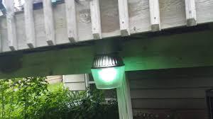 mercury vapor bucket light on my patio