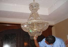 easiest way to clean a crystal chandelier designs