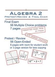 best algebra images algebra rational  algebra 2 pretest review and final exam