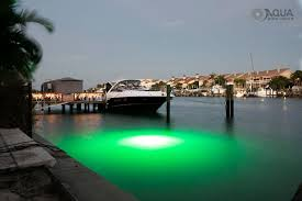 mega watt green underwater led light system aqua dock lights