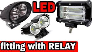 How To Install Led Lights On A Motorcycle How To Install Led With Relay