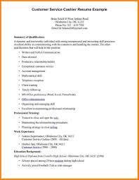 Sample Resume Cashier Cashier Resume Sample Writing Guide Genius Shalomhouseus 8
