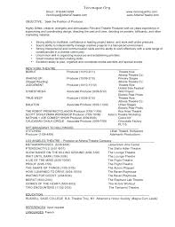 Video Production Resume Samples Video Producer Resume Video Production Resume Example Template Music