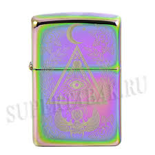 <b>Зажигалка Zippo</b> - <b>Eye</b> of Providence Design - Spectrum купить