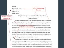 Elements Of Persuasion And Mla Formatting