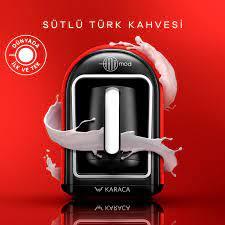 Karaca Hatır Mod Sütlü Türk Kahve Makinesi Red Karaca Home