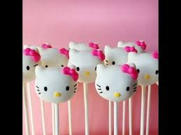 How To Make Hello Kitty Cake Pops Howhacks Youtube