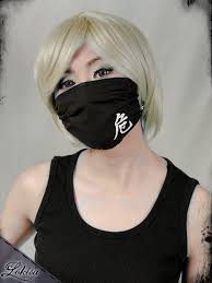Decorative Surgical Masks Kanji Face Mask Fashion Mask Unique Harmony Danger 34