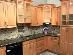 great ideas for granite backsplash black countertops maple cabinets and