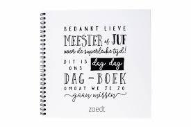 Invulboek Dag Dag Invulboek Voor Juf En Meester