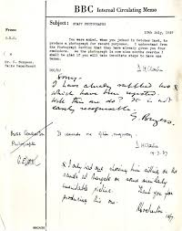 What Is An Internal Memo Bbc Archive Guy Burgess At The Bbc An Internal Memo About