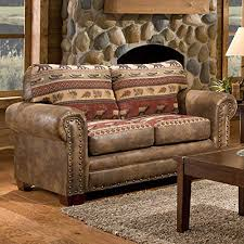 rustic leather sofas. Exellent Leather American Furniture Classics Sierra Lodge Love Seat And Rustic Leather Sofas T