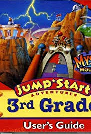 jumpstart adventures 3rd grade mystery mountain poster