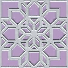 Paper Quilt Design Dies | Purple Daisy Design & QD 103 Bethlehem Star Paper Quilt Die Adamdwight.com
