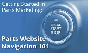 Parts Website Navigation 101 - Spork Marketing
