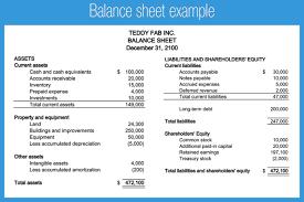 Balance Sheet Template - FREE DOWNLOAD