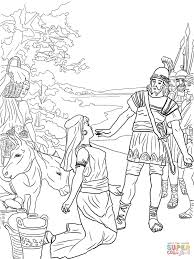 Small Picture David and Abigail coloring page Free Printable Coloring Pages