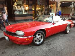 the world s most recently posted photos of convertible and strada  red convertible jaguar Σταύρος tags sf auto sanfrancisco street city red classic apple