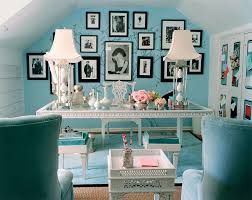 chic office design. Mary Macdonald Tiffany Blue Office Chic Design R