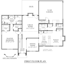 two story house plans with first floor master bedroom for homes with first floor master bedrooms
