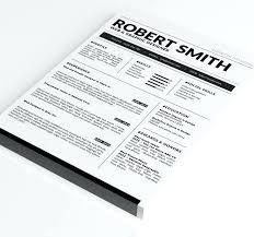 Resume Template Docx Ms Word Curriculum Vitae Format