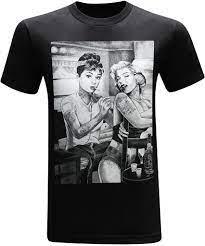 Marilyn Monroe und Audrey Hepburn ...