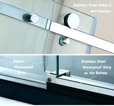 replace rubber seal around shower glass shower door bottom seal shower door bottom seal shower door