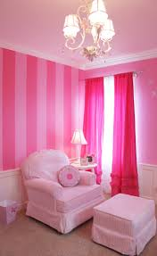 Pink Curtains For Girls Bedroom 17 Best Ideas About Pink Striped Walls On Pinterest Teen Bedroom