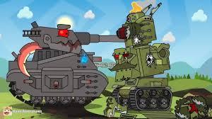 Xe tăng bắn nhau - Xe Tăng Hoạt Hình - Xe Tăng Quái Vật - Tanks for kids