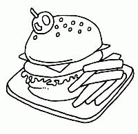 Panini E Hotdog Disegni Da Colorare E Stampare Gratis Immagini Per