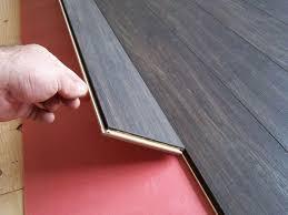 laminate floor install tilt lock