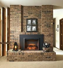 electric inserts fireplace