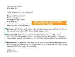 Casual Job Cover Letter The Best Template