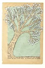 nice idea for painted book page art a negative of the usual exles where the print serves as the background