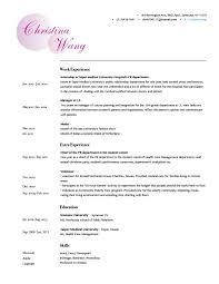 Example Of Artist Resume Salon Resume Sample Professional Resume