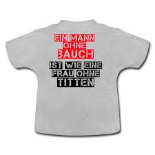 Sprüche Mann Ohne Bauch Spruch Witzig Lustig Baby T Shirt