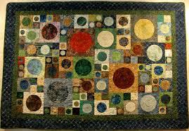 Modern Art Deco Batik Quilt & 🔎zoom Adamdwight.com