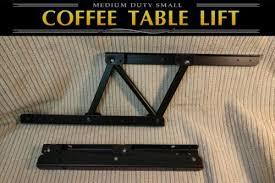 lift top coffee table mechanism diy